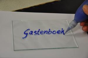 gastenboek glasatelier Vetro Colorato, neerbeek, limburg, Geert Hochstenbach, workshops, uniek, kinderfeestje,