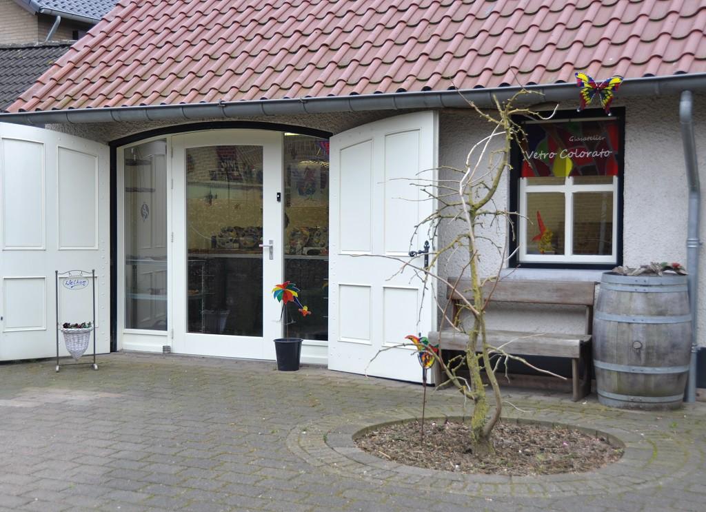 Glasatelier Vetro colorato, neerbeek, Limburg, Workshops, kinderfeestjes, glas in lood, glas in randlood, geert hochstenbach, cadeaubon